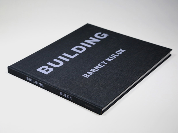 Building - Book design for Building: Louis I. Kahn by Barney Kulok
