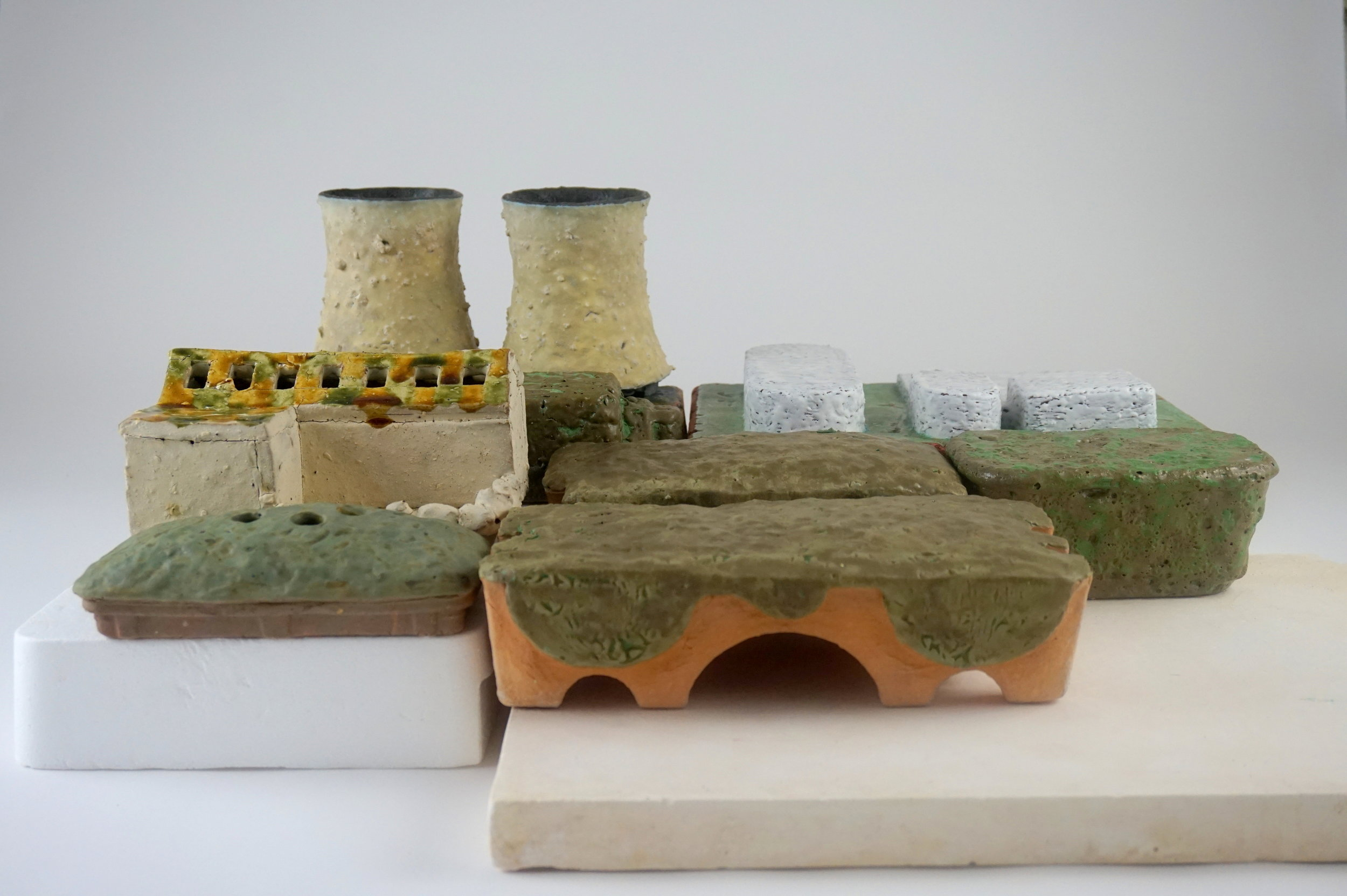 05 Cooling Tower Vases and Abandoned House Flower Brick.JPG