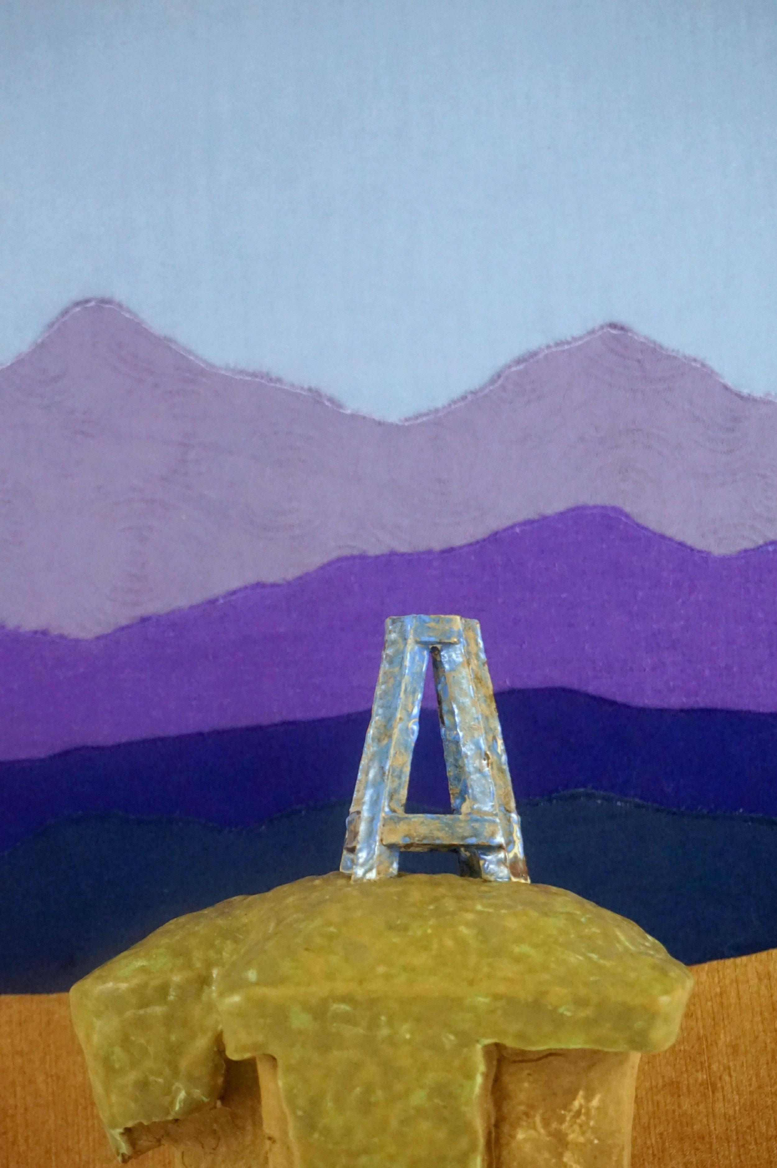 08 Purple Mountains Majesty and Fracking Rig Bud Vase.JPG
