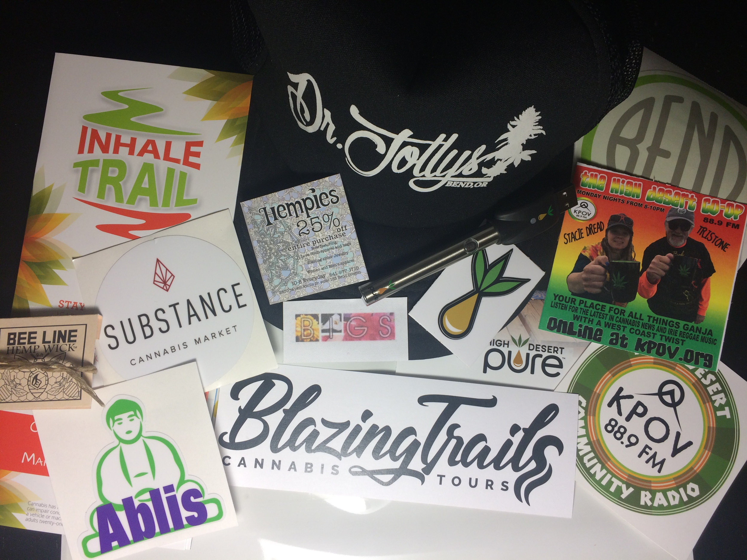 Tours also include:cannabis consumer safety info,Oregon history and laws,cannabis science anda swag bag valued at over $50 in gifts and coupons! -