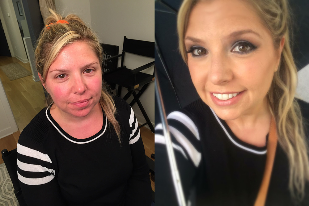 Makeup - Before and After by Blende Beauty