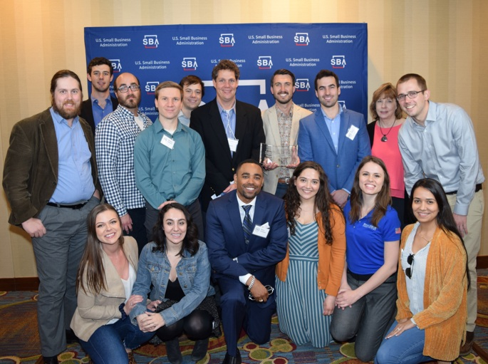 The Stone Arch Team at the Small Business Awards, May 2019