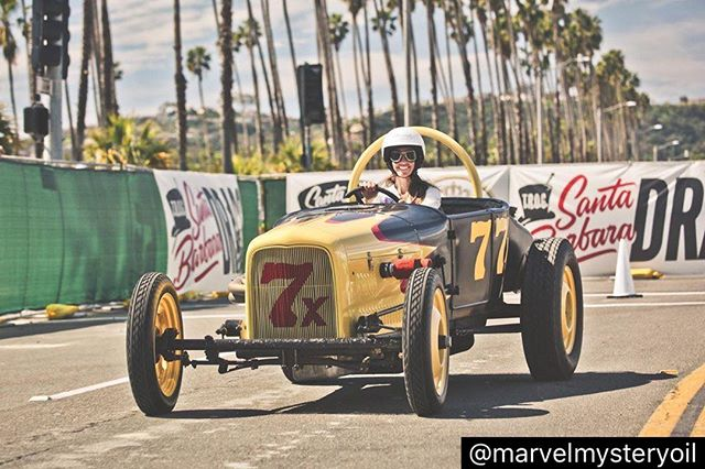 Love how The Race Of Gentleman photos keep popping up! There were so many talented photographers there⚡️ #repost @marvelmysteryoil #theraceofgentleman #smilesformiles #vintagedragracing