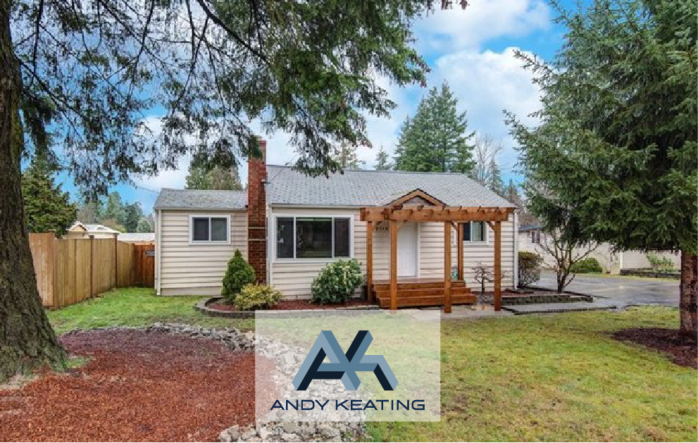 Rose Hill, Kirkland, WA Represented Seller $635,000 9744 132nd Ave NE