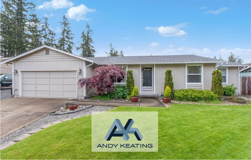 Puyallup, WA  Represented Seller / $287,000 8402 189th St Ct E