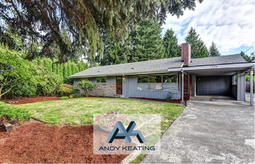 Kenmore, WA Represented Seller / $480,000 7229 NE 156th St
