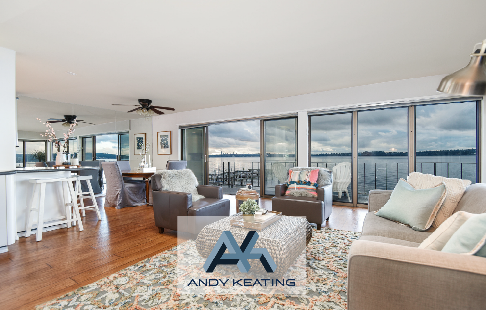 Lake Washington Blvd NE, Kirkland, WA Represented Seller / $1,210,000 6401 Lake Washington Blvd NE #209