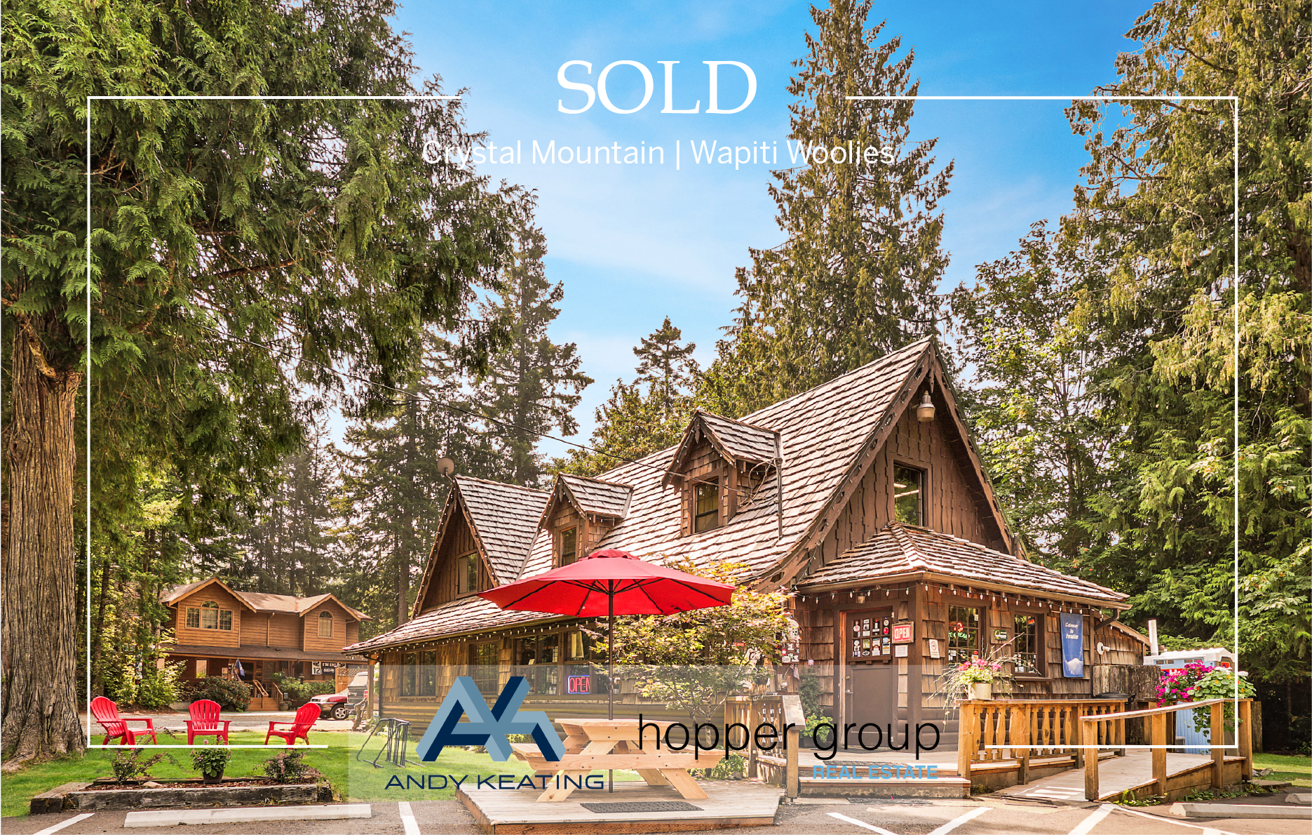 Commercial Listing | Crystal Mountain | Wapiti Woolies Represented Seller