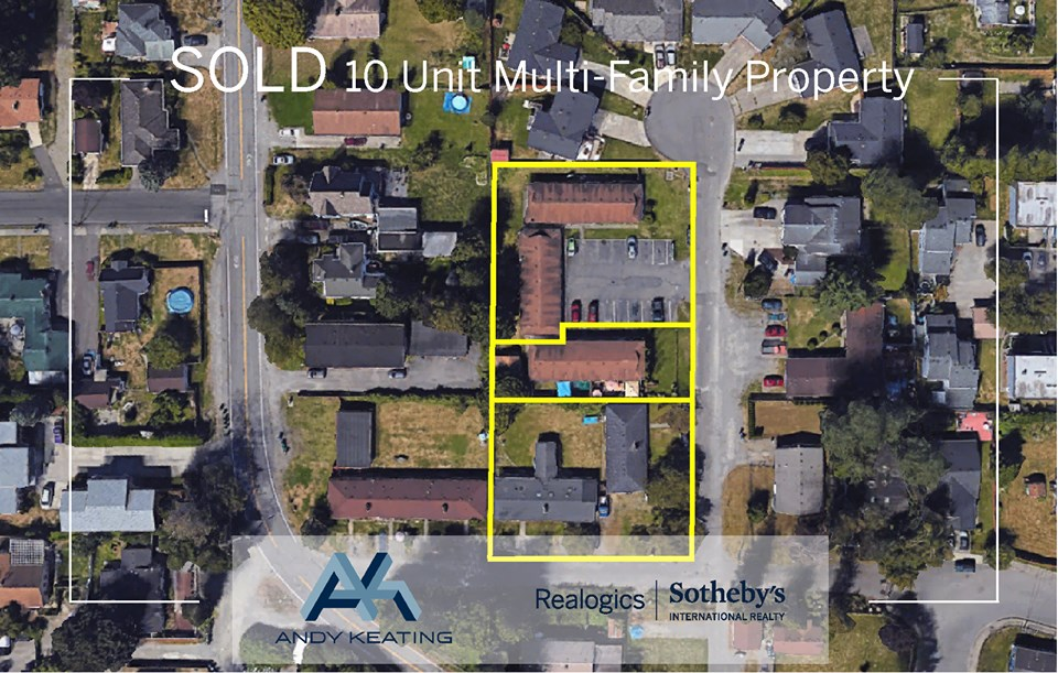 10 Unit Multi - Family Property Auburn, WA Represented Buyer
