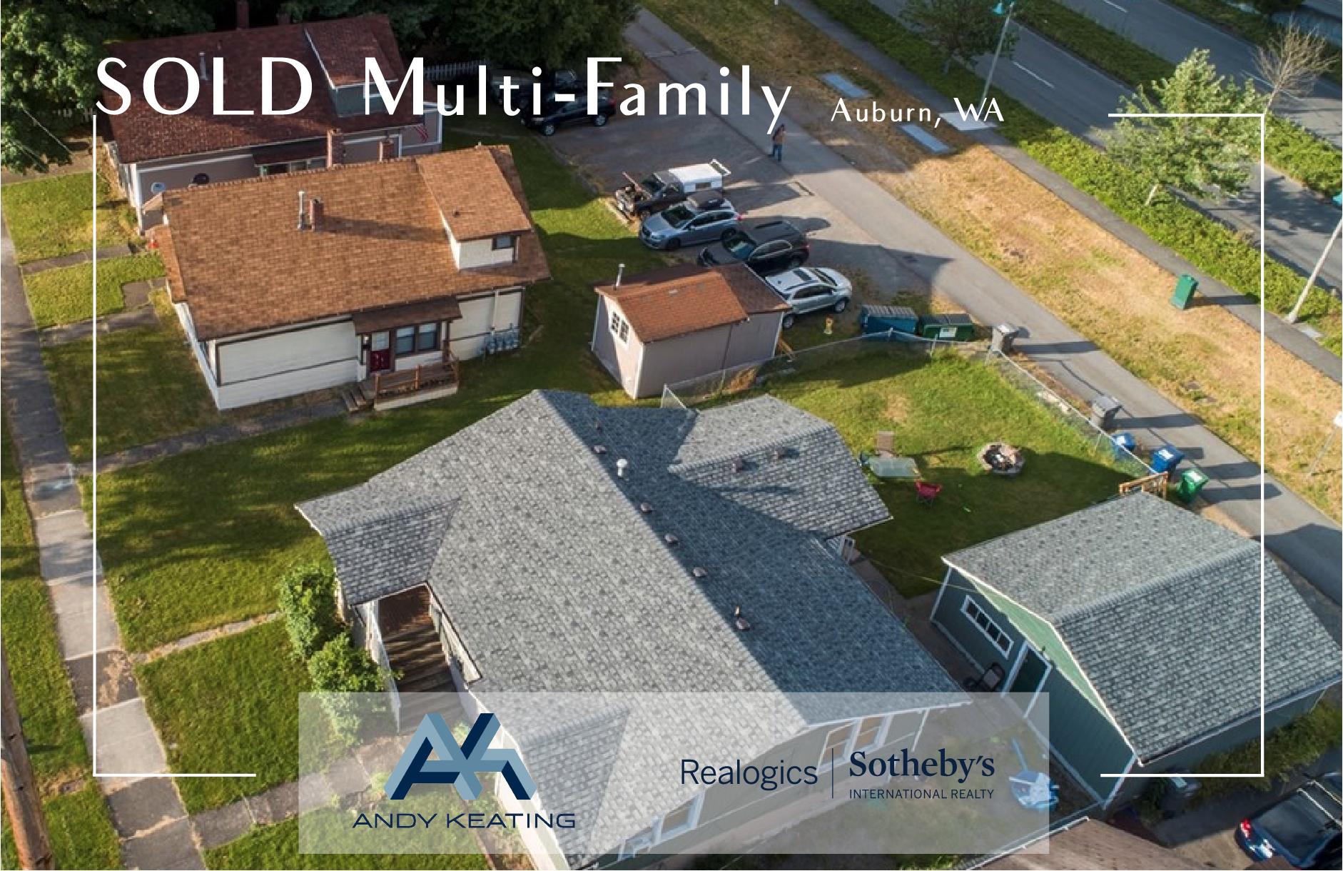 Multi-Family Auburn, WA Represented Buyer / $1,031,000