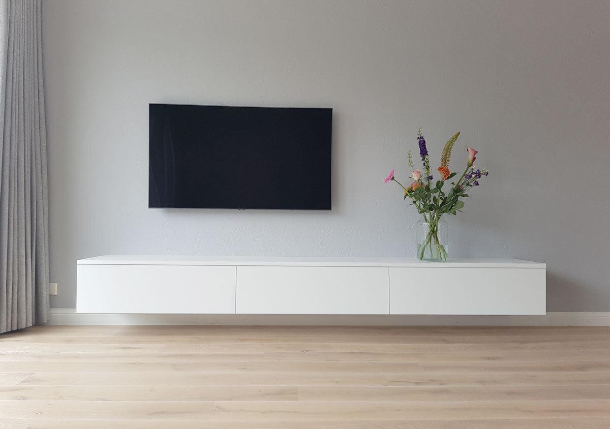 Houten Tv Meubel Op Maat.Fam Martens Tv Meubel Design Meubels Op Maat