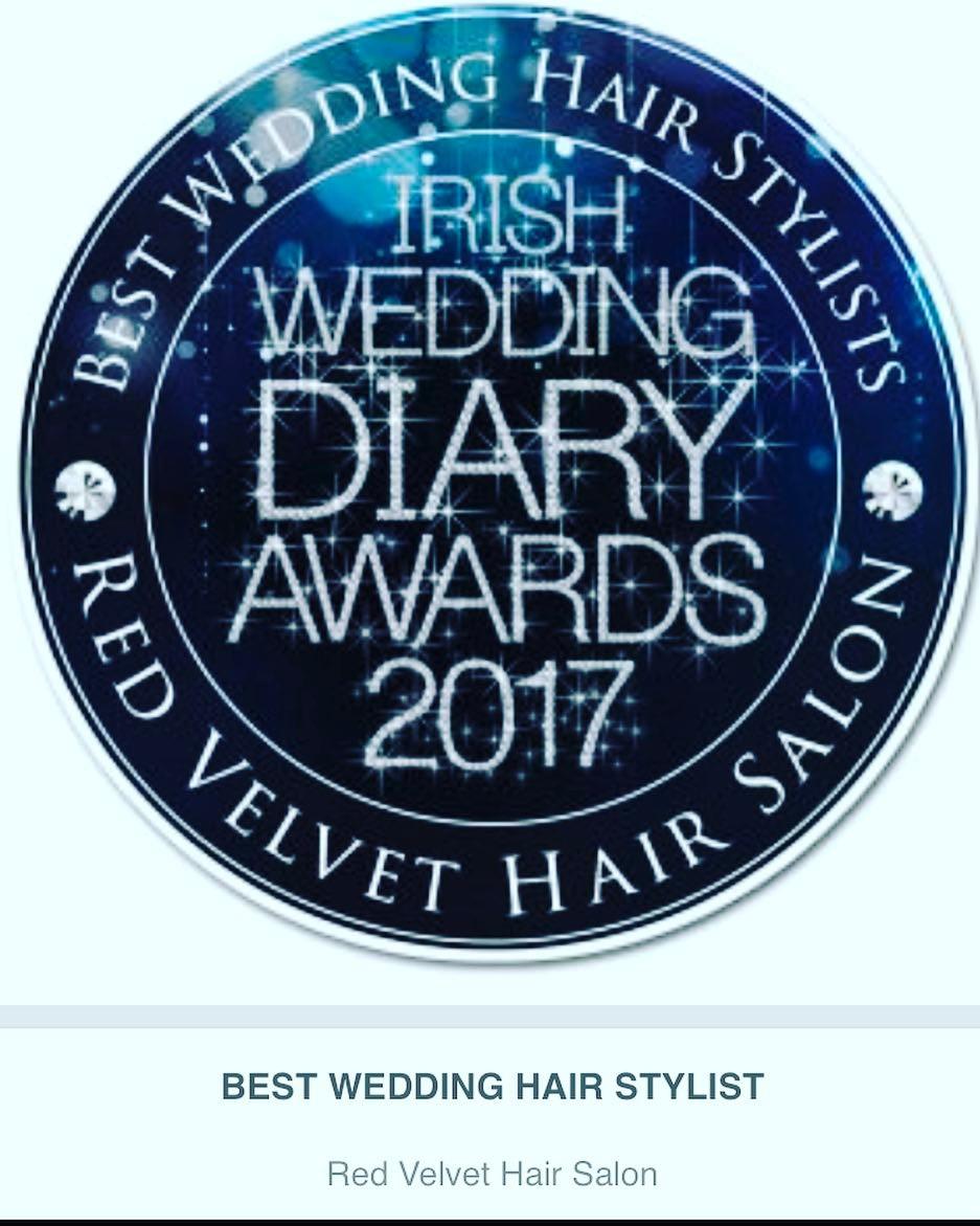 best wedding hair stylist award