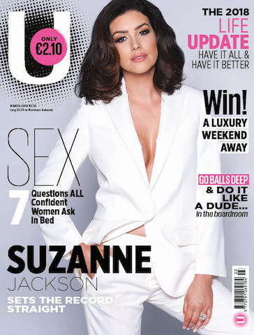 Suzanne Jackson's hair for U Magazine styled by Jane Walsh from Red Velvet Hair Salon.  See more here