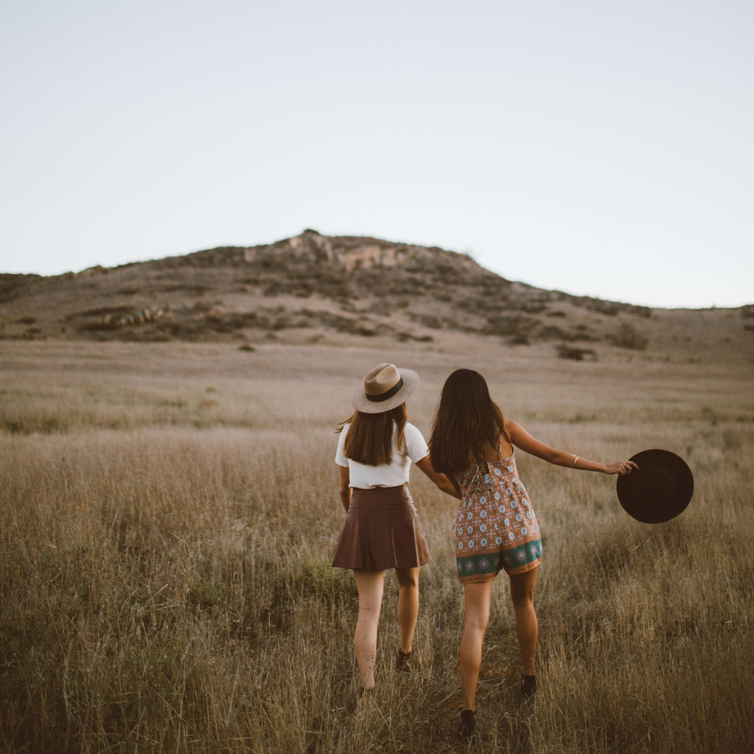 Getting out with friends and talking about your creative dry spell can be the most healing!