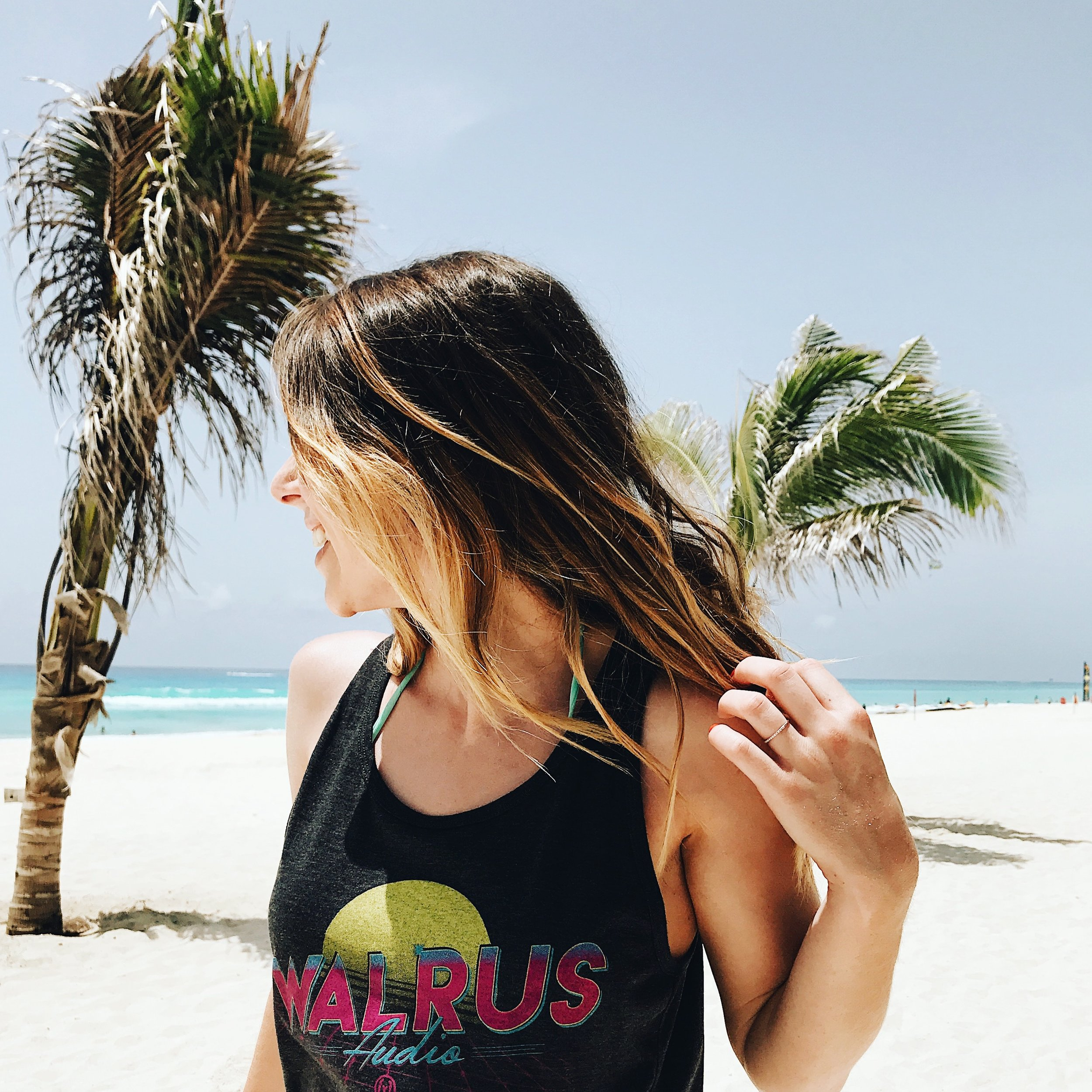 Love this beachy tank from Walrus!