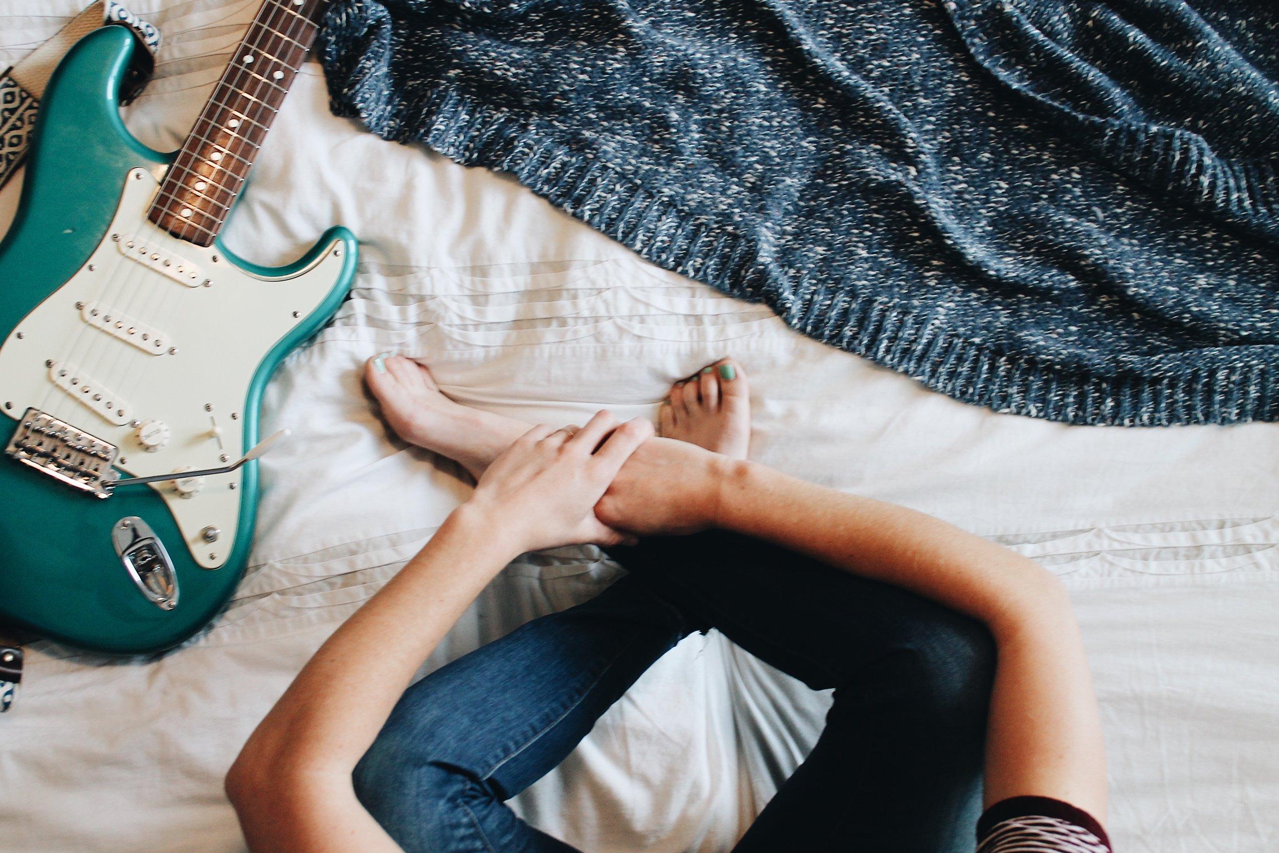 making guitar videos for instagram
