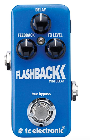 TC Electronic Flashback Mini Delay - Everything TC Electronic makes is amazing! This little pedal packs in a sound of delay-y goodness. It's very simple too which I like!
