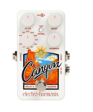 Electro-Harmonix Canyon Delay + Looper - A little delay, looping, and even tremolo!