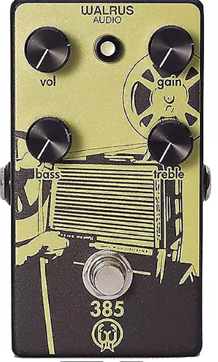 Walrus Audio 385 Overdrive - I tried this Overdrive at the NAMM show! It's vintage-y and tube amp like and when it's turned up, has an awesome compressed overdrive sound!