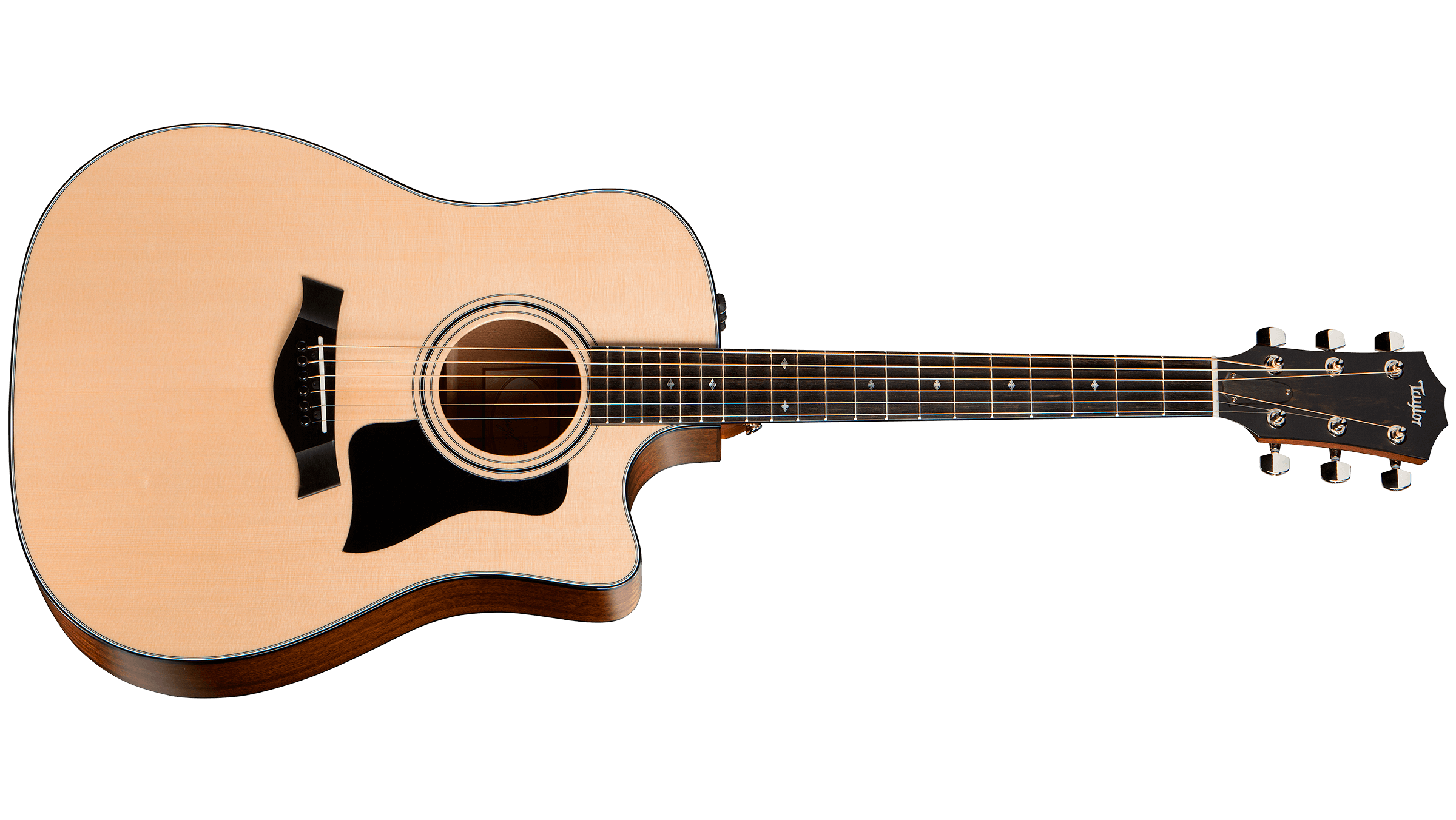 Taylor 310ce - Ok so this particular one is discontinued, but you can still find them on reverb. Honestly though, you can't go wrong with a Taylor. They are always gorgeous and classic!