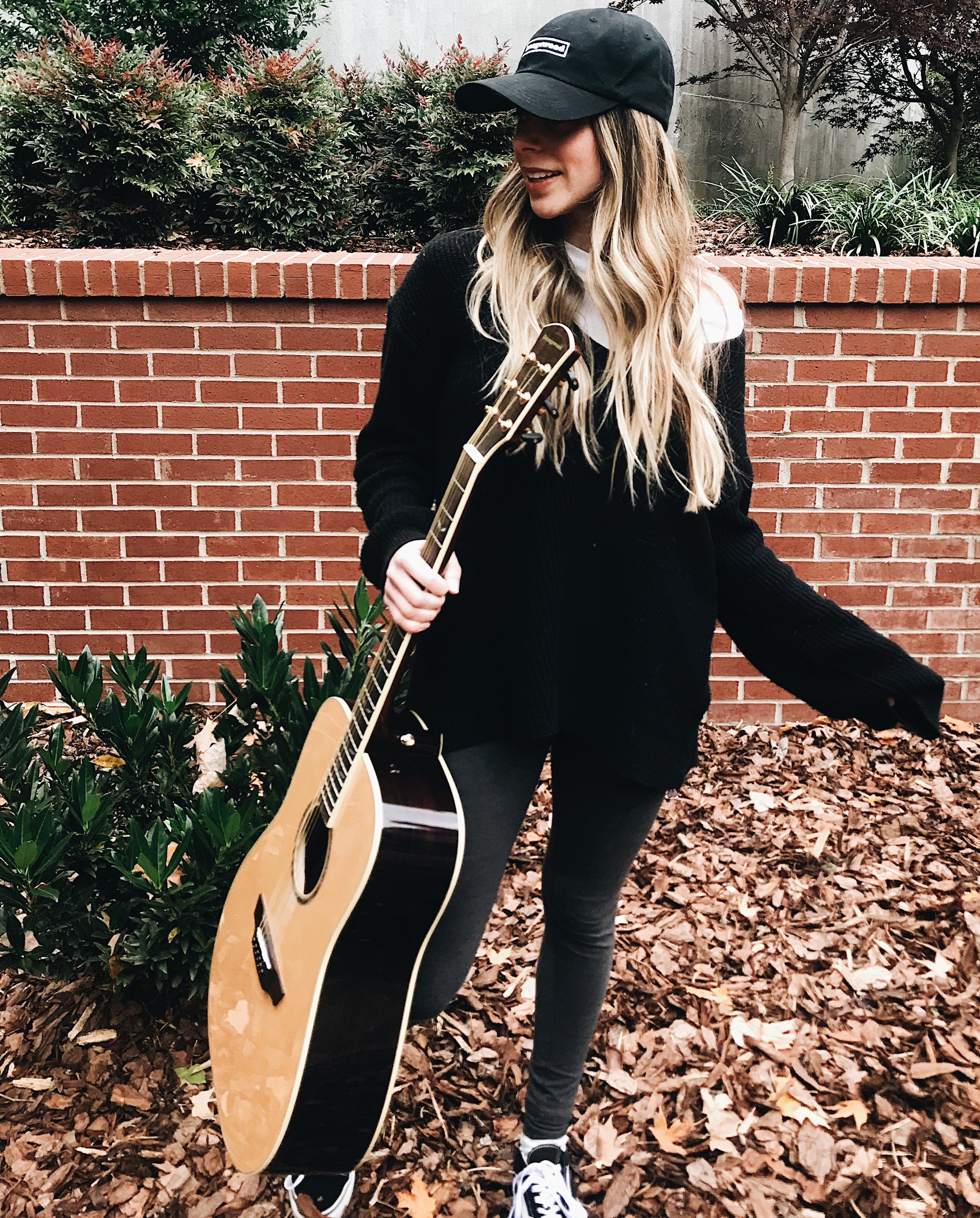 Also thankful for this amazing  Orangewood guitar  and dad hat! Also if you use the Code:  haleysfriends10  you can get 10% off an awesome guitar!