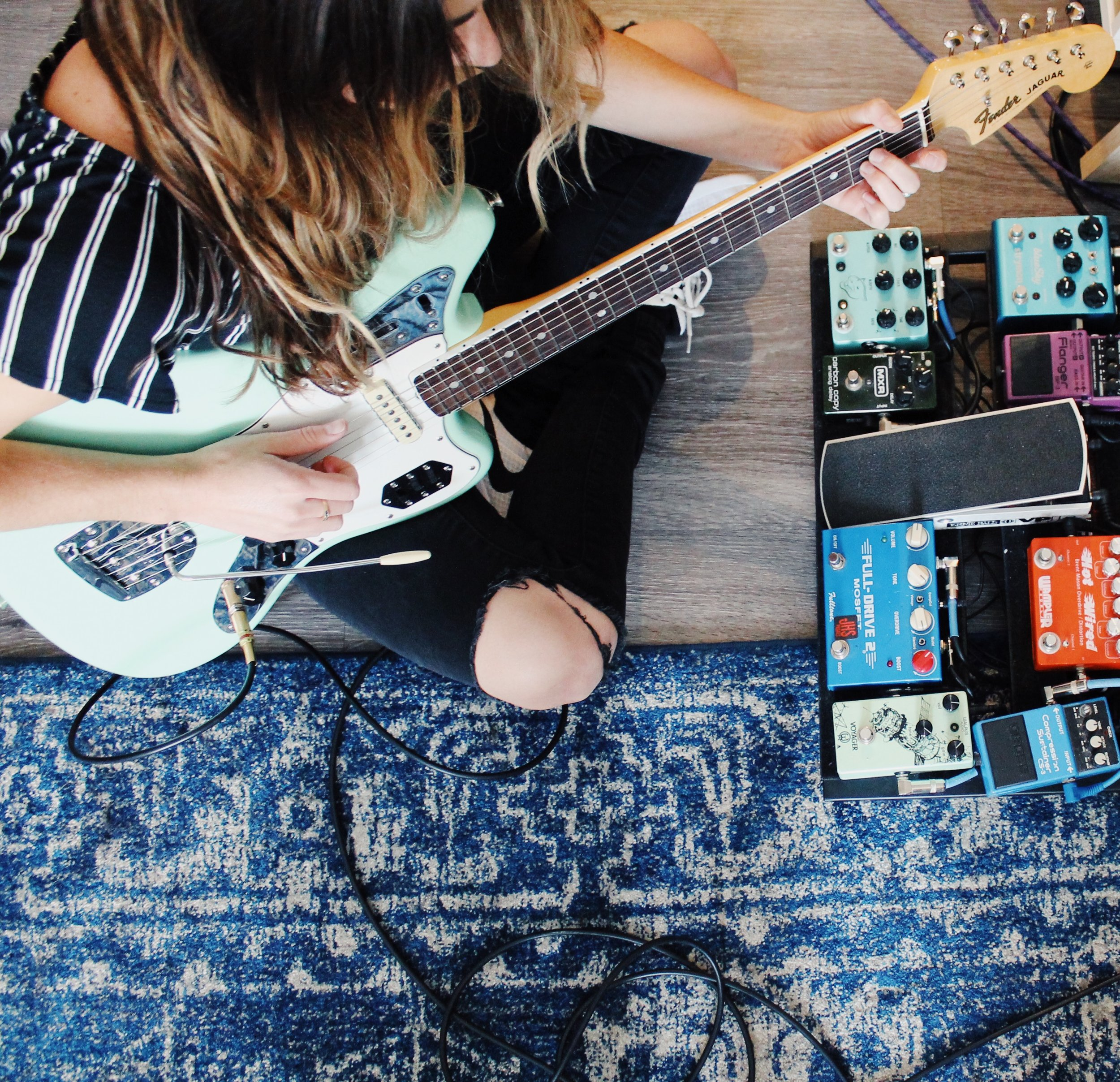 Get Gear Recommendations - Check out my gear guide to learn more about amps, guitars, and pedals!