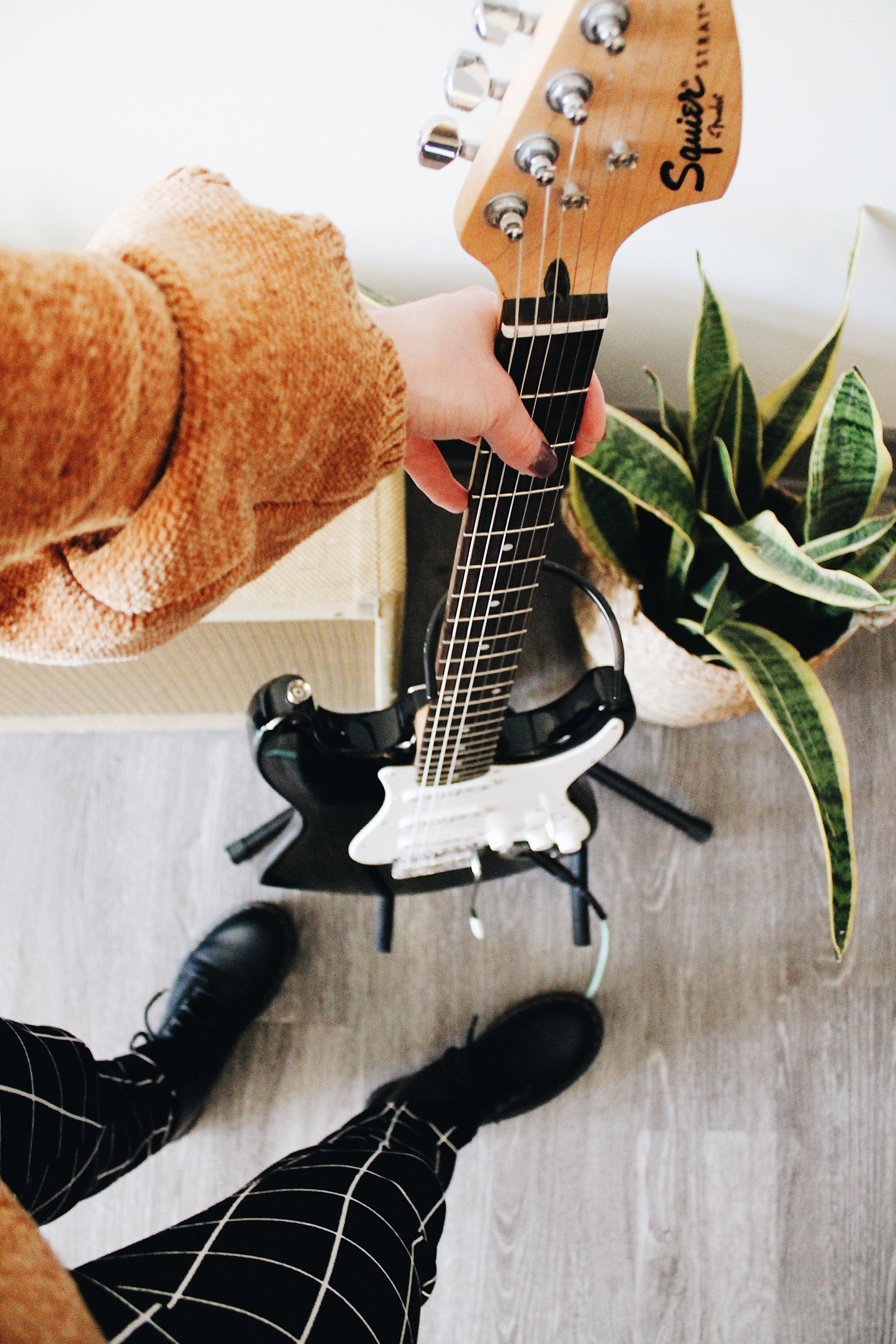 free guitar goal planner