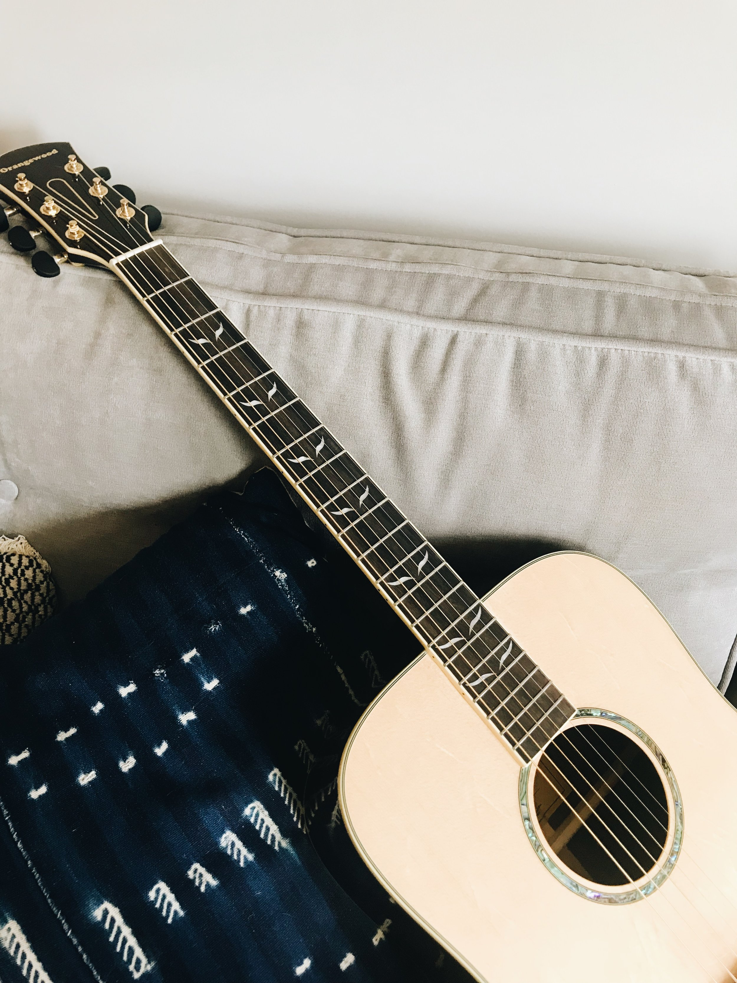 Get the acoustic booster course - Feel confident picking up your acoustic guitar with my 30 lesson course and eBook! Learn fun new chords, songs, and new techniques, that are straightforward and easy to follow!
