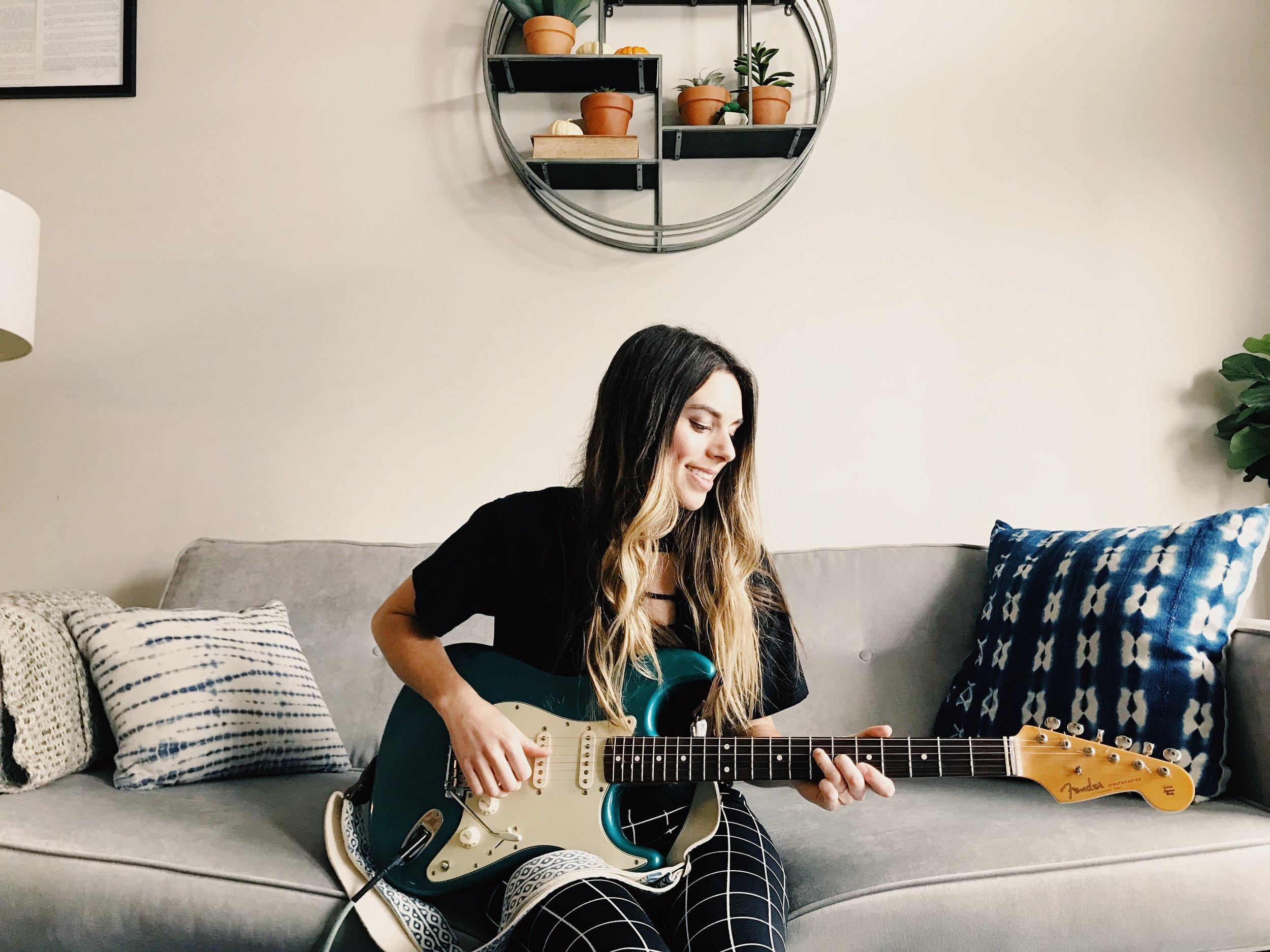 guitar practice planner