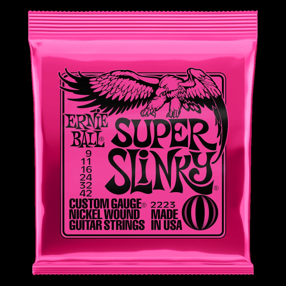 Super Slinky's by Ernie Ball