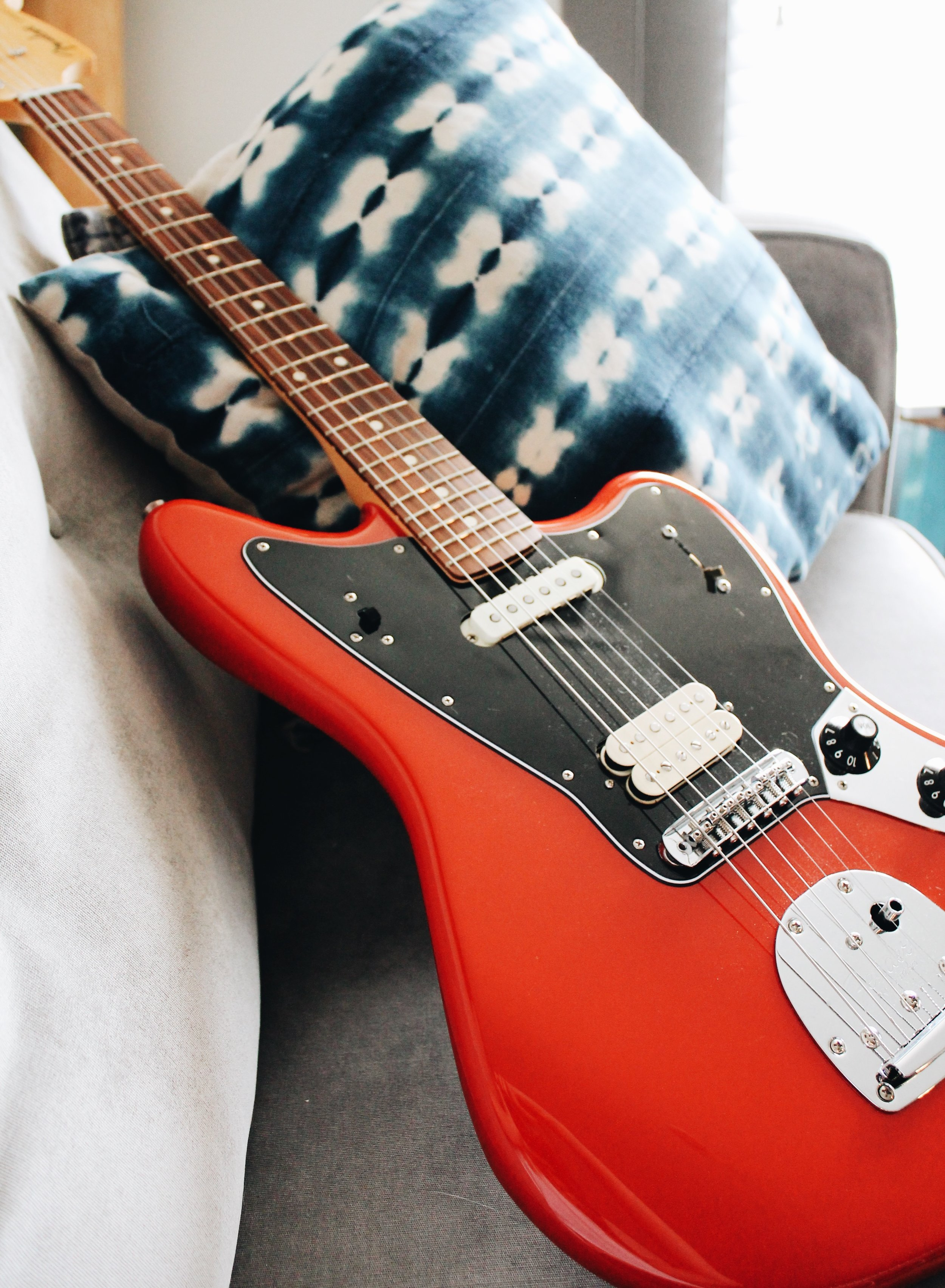 The  Fender Player Series  have become my go to guitar recommendation for students starting out on Electric. They sounds great and are a great deal!
