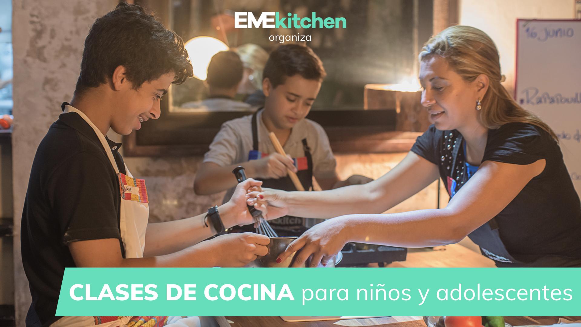 Descaraga CLASES DE COCINA para niños