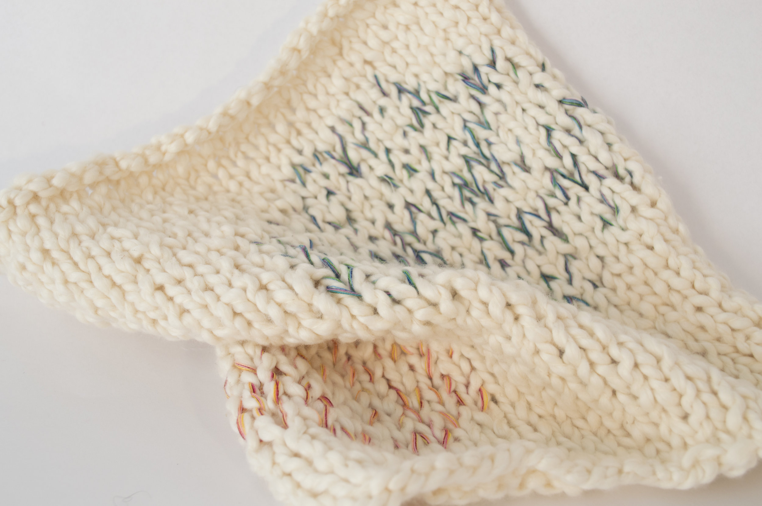 Textile design #2 knitting