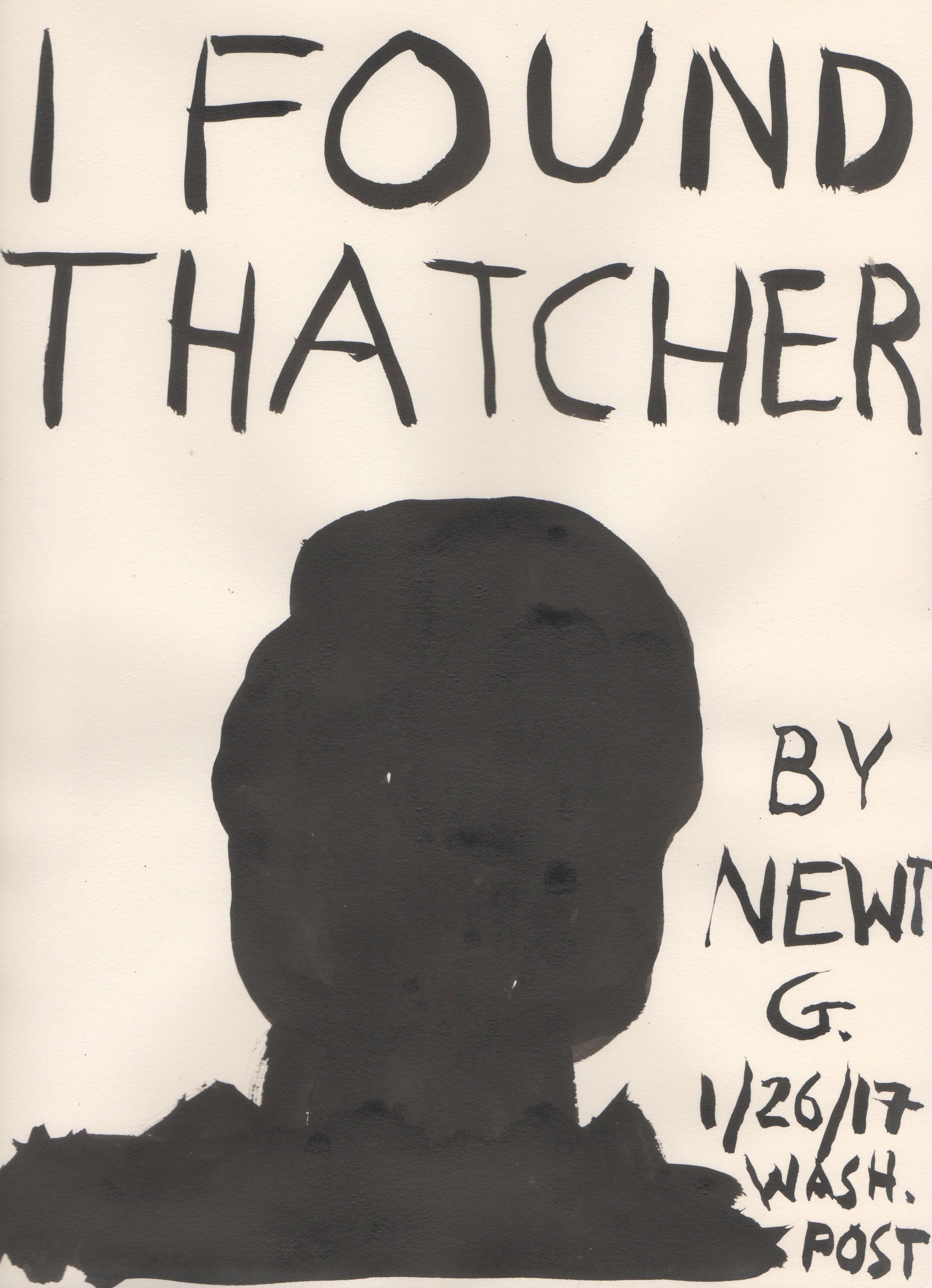 I Found Thatcher