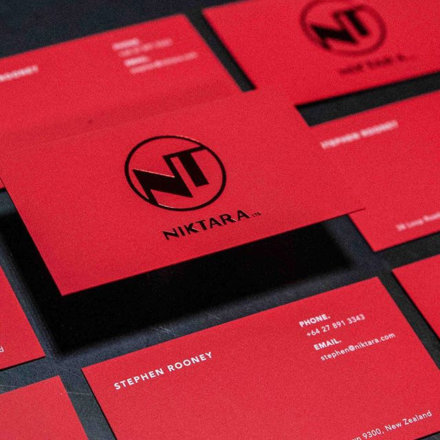 Wow! Look at these magical business cards. a beautiful chill red foil on mounted Curious Skin Red stock, finished with digitally printed white. A case of know your market and stun them. Just in time for a trip to Asia, the client wanted something his own clients would love and trust. Logo and cards designed by our talented designers.⠀⠀ .⠀⠀ .⠀⠀ .⠀⠀ .⠀⠀ #printisnotdead #foilprint #bfpaper @valley.print ⠀⠀#logodesinger #brandingdesign #printshop #hotfoil #luxurydesigns #prideinprint #queenstown#businesscards #premiumbrand #redvelvet #curiousskin #specialbusinesscards #specialtybusinesscards #foilprint #whiteinkprinting #brandlandnz