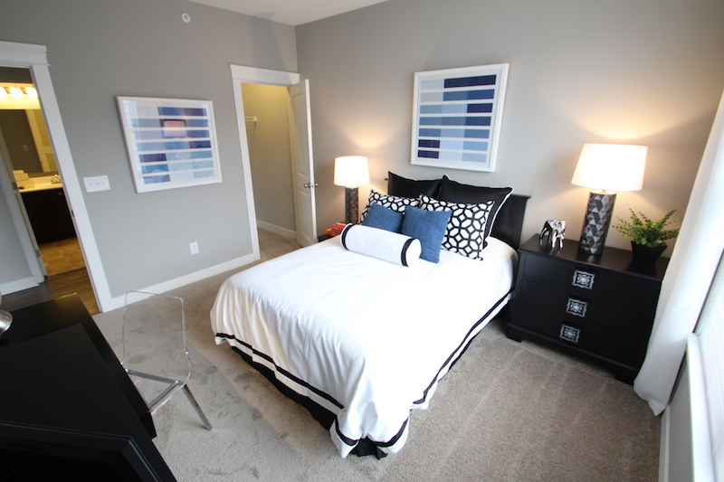 Highpointe - Model bedroom 1 (apartment).JPG