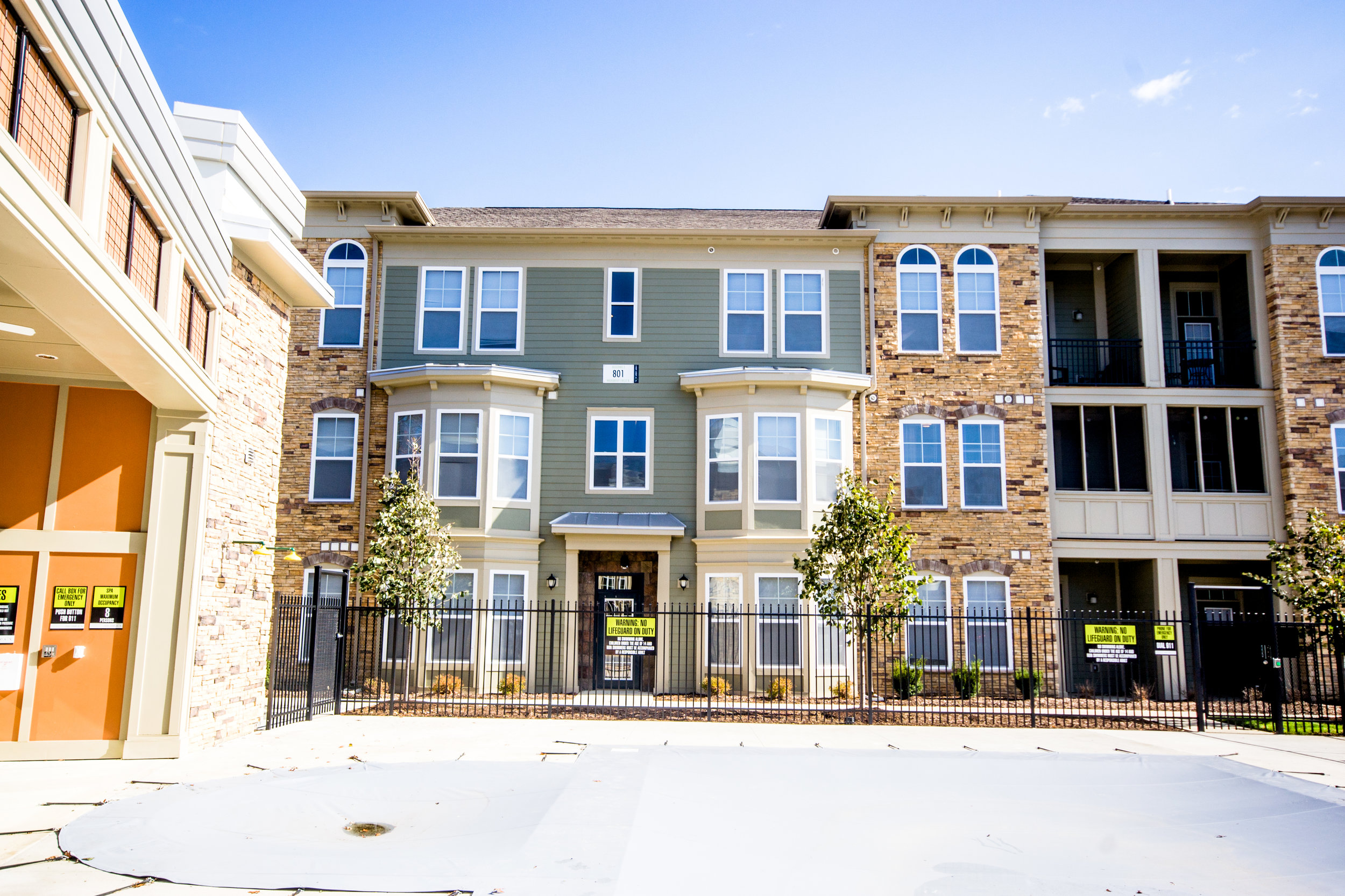 Apartments in Carmel One One Six multiple building.jpg