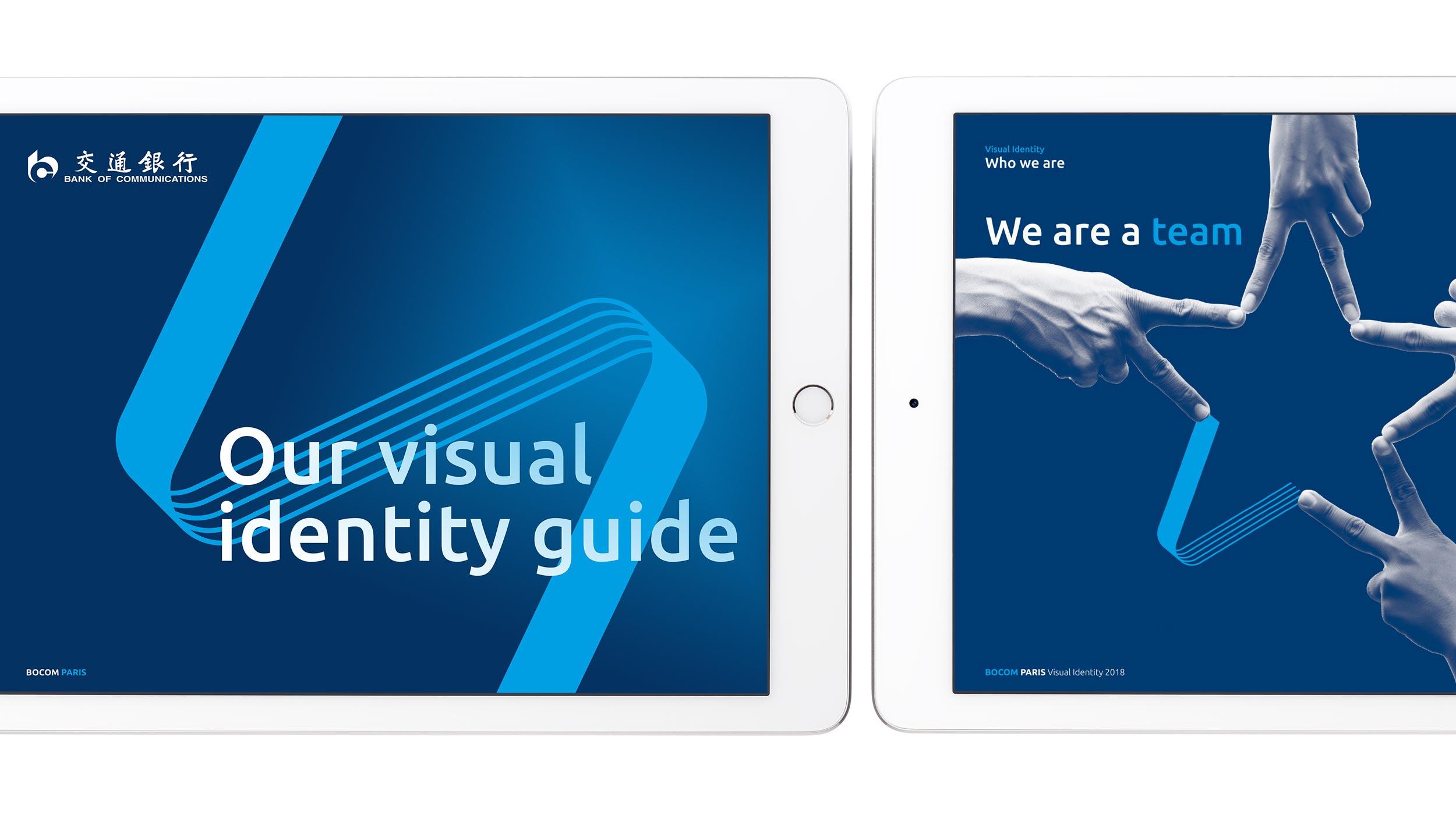 Visual Identity Guide..Charte graphique