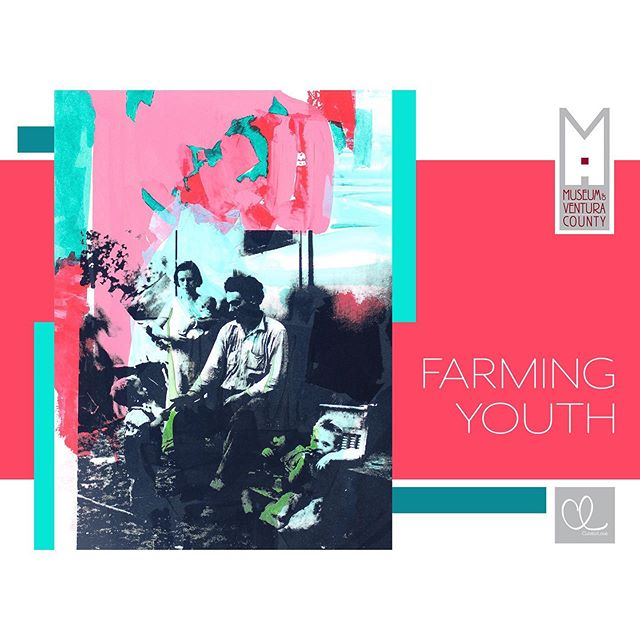 "Proud to announce my next solo exhibition ""Farming Youth,"" curated by @curatorlove in partnership with @museumofventuracounty at Agriculture Museum. Opening reception June 15 from 12-2pm. See you there!"