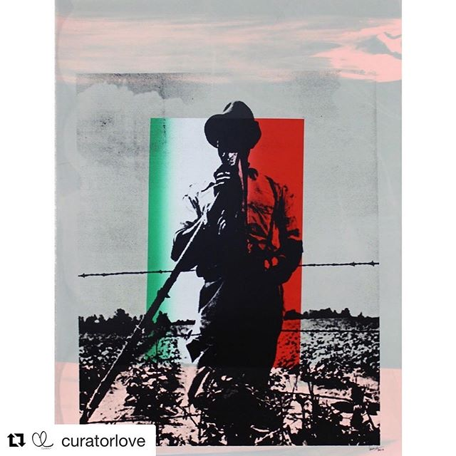 #Repost @curatorlove with @get_repost ・・・ Untitled by Lino Martínez. ••• On Their Backs: Latinx Labor in the US. On view at @focalaart (July 13 - Sep 6) Curated by @hirugami Founder & CEO of @curatorlove. ••• Artist in the exhibition: @claudiacanoartist @tacosalamicroonda @ramirogomezjr @linomartinezart @narsisomartinez @adelgadoart @alexcartagenamex @antoniopelayo. ••• #curatorlove #carpoolers #carpool #art  #contemporaryart #contemporary #gallery #installation #museum #artwork #artist #la #dtla #losangeles #chinatown #photography #photographer #mexicanart #artemexicano #latinx #tacos #therewillbetacos #tacosalamicroonda #taco #artinstallation #installation