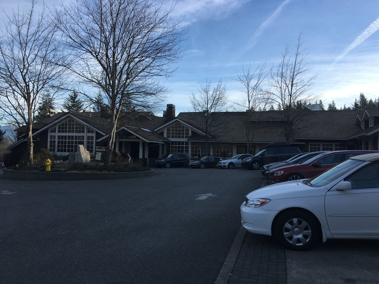 THE SALISH LODGE, AKA THE GREAT NORTHERN HOTEL:     The Salish Lodge, (The Great Northern) is a beautiful location to visit as it sits atop the Snoqualmie Falls.