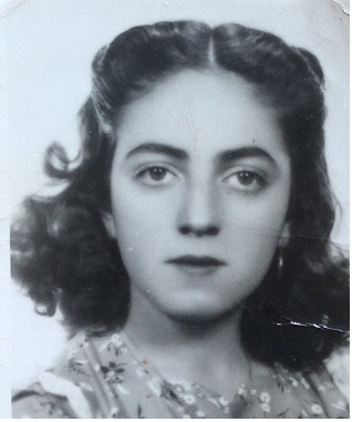 And, here is my mother, Alicia, as a young woman. (Yes, I am named after her.)