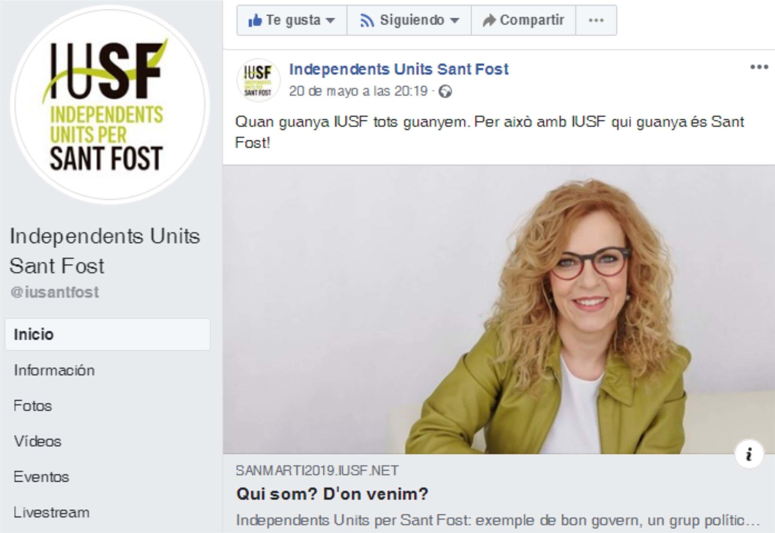 La campaña, también en redes sociales, como Facebook.