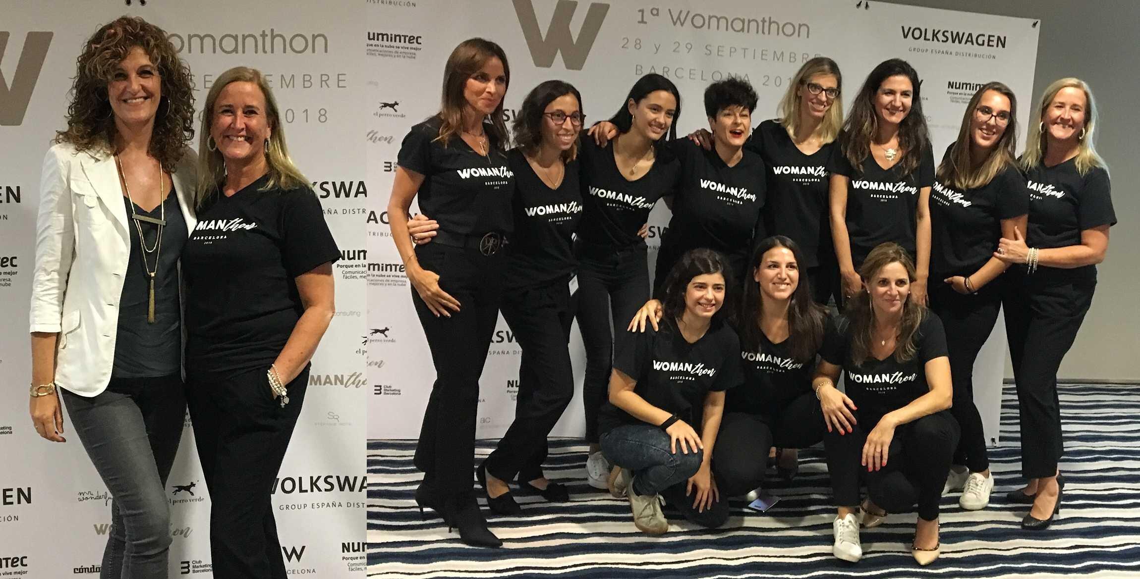 Womanthon 2018, con Lourdes como mentora de un workshop muy enriquecedor, dentro de unas jornadas dedicadas a la mujer empresaria y profesional.