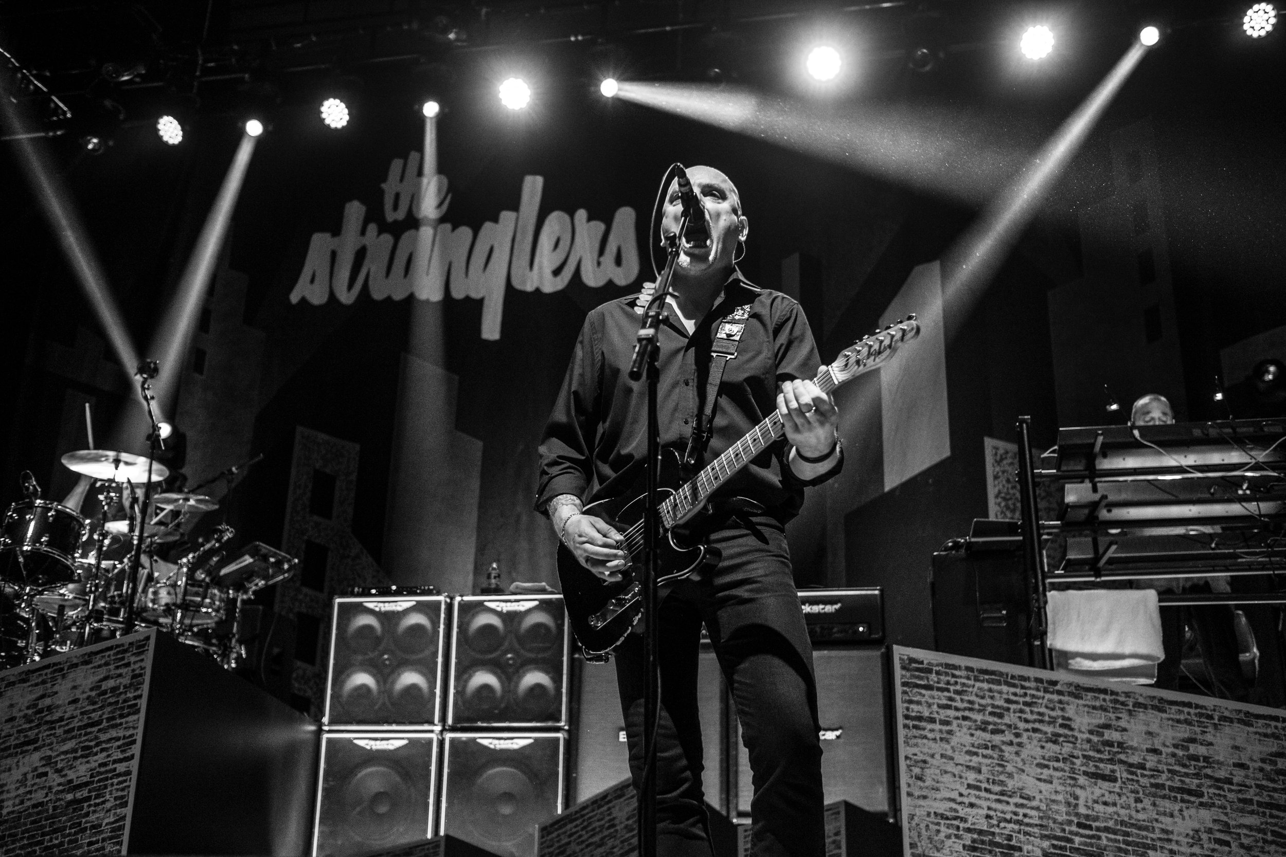 THE STRANGLERS PLAY DUNFERMLINE'S ALHAMBRA THEATRE | PICTURE BY: COLIN FOY PHOTOGRAPHY