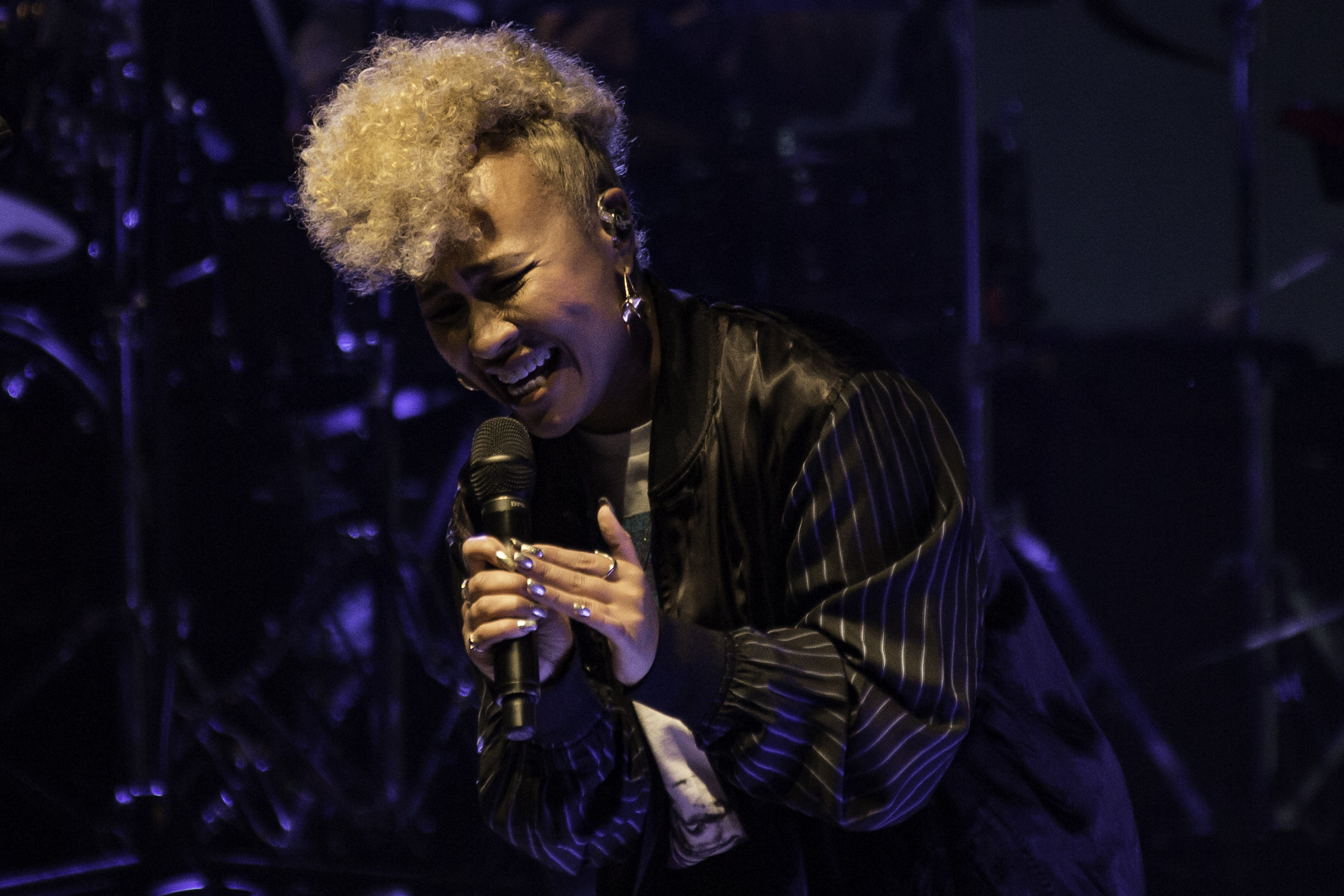 EMELI SAND É  PLAYS SOLD OUT LEEDS O2 ACADEMY   PICTURE BY: LAURA TOOMER PHOTOGRAPHY