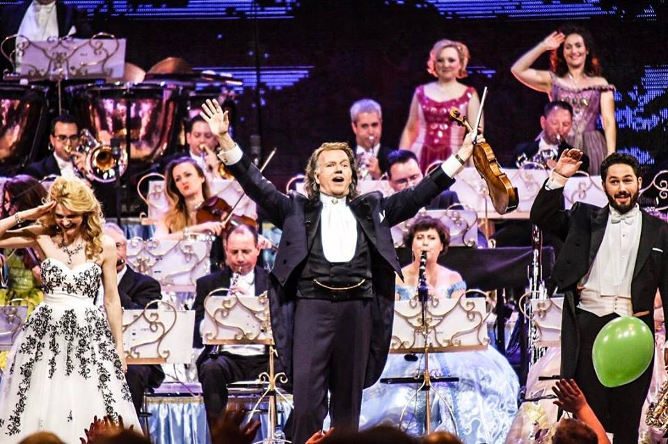 ANDRÉ RIEU PERFORMING AT GLASGOW'S THE SSE HYDRO, GLASGOW PICTURE: CALUM BUCHAN PHOTOGRAPJY