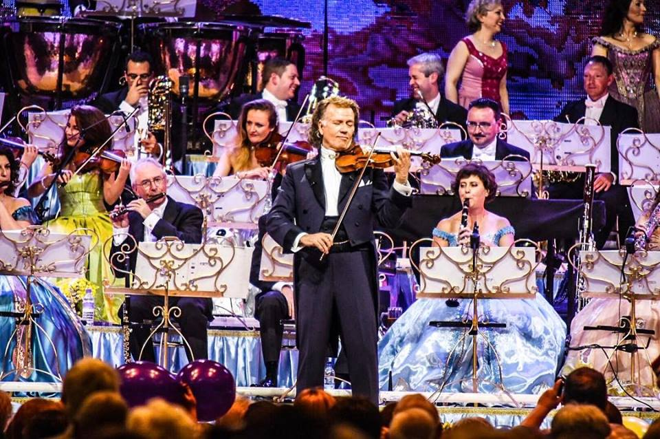 ANDRÉ RIEU PERFORMING AT GLASGOW'S THE SSE HYDRO   PICTURE: CALUM BUCHAN PHOTOGRAPHY