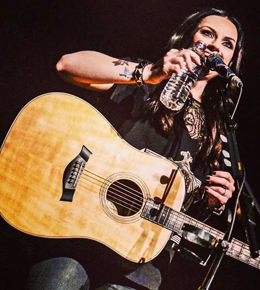 AMY MACDONALD PERFORMING AT EDINBURGH'S USHER HALL - 05/04/2017  PICTURE BY: CALUM BUCHAN PHOTOGRAPHY