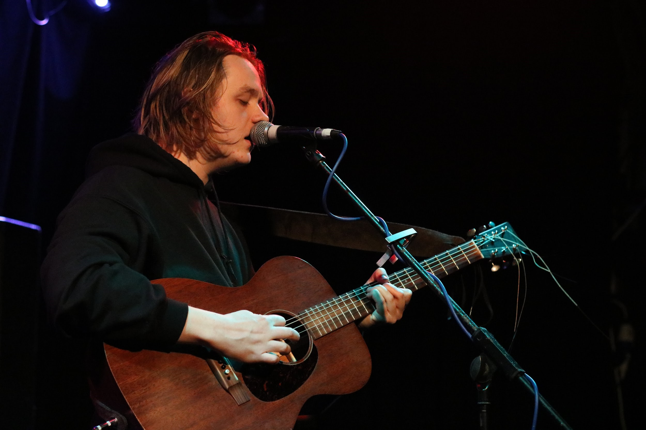 LEWIS CAPALDI PERFORMING AT ABERDEEN'S TUNNELS - 12/04/2017  PICTURE BY: COREY MCKAY